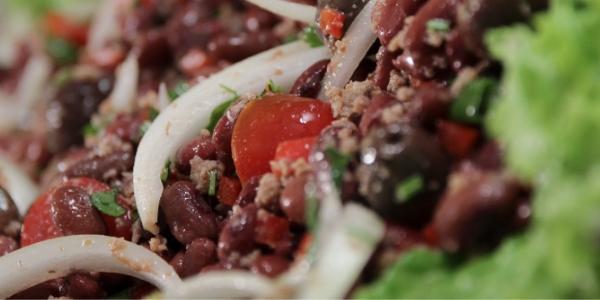 Salada de Feijões Vermelhos